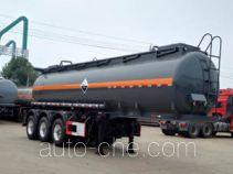 大力牌DLQ9405GFW型腐蚀性物品罐式运输半挂车