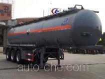 大力牌DLQ9406GFW型腐蚀性物品罐式运输半挂车