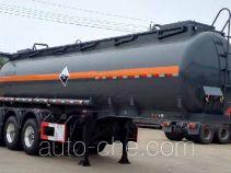 大力牌DLQ9407GFW型腐蚀性物品罐式运输半挂车