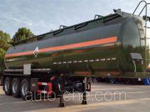 大力牌DLQ9408GFW型腐蚀性物品罐式运输半挂车