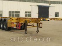 鑫凯达牌DLZ9400TJZ型集装箱运输半挂车
