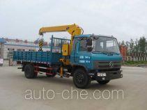 嘉龙牌DNC5160JSQG-40型随车起重运输车