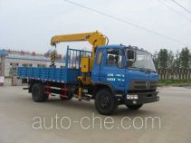 嘉龙牌DNC5160JSQG1-40型随车起重运输车