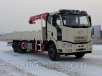 Oil pump transport crane truck