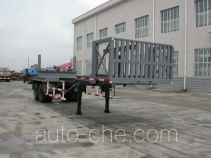 Jingtian DQJ9300TJG oil well pipe transport trailer