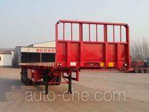 Woshunda DR9401TPB flatbed trailer