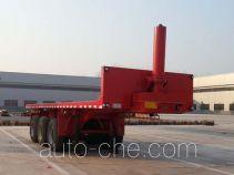 Woshunda DR9401ZZXP flatbed dump trailer