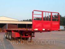 Woshunda DR9403TPB flatbed trailer