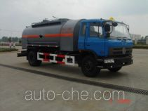 Chemicals recycling vehicle