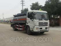 Teyun corrosive substance transport tank truck