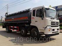 Teyun DTA5251GFWD5 corrosive substance transport tank truck