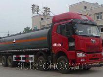 Teyun DTA5310GFWC4 corrosive substance transport tank truck