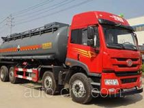 Teyun DTA5312GFWCT4 corrosive substance transport tank truck
