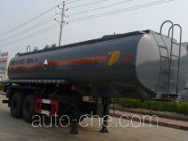 特运牌DTA9350GFW型腐蚀性物品罐式运输半挂车