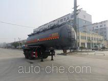 特运牌DTA9351GFW型腐蚀性物品罐式运输半挂车