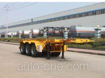 Teyun DTA9400TWY каркасный полуприцеп контейнеровоз для контейнеров-цистерн с опасным грузом
