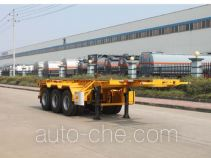 Teyun DTA9400TWY dangerous goods tank container skeletal trailer