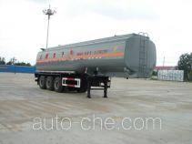 特运牌DTA9401GHY型化工液体运输半挂车