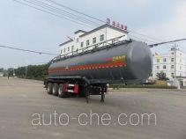 特运牌DTA9403GFWA型腐蚀性物品罐式运输半挂车