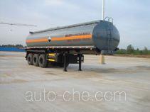 特运牌DTA9402GHY型化工液体运输半挂车