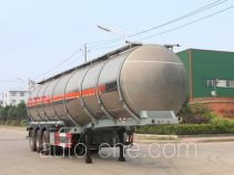 Teyun flammable liquid aluminum tank trailer