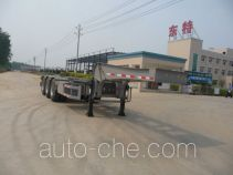 Teyun DTA9402TJZ container transport trailer