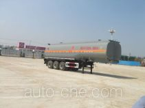Teyun DTA9403GHY chemical liquid tank trailer