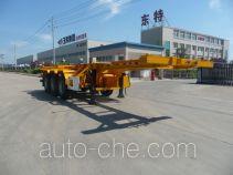 特运牌DTA9403TJZ3型集装箱运输半挂车
