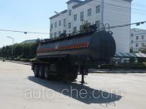 特运牌DTA9405GFW型腐蚀性物品罐式运输半挂车