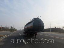 特运牌DTA9406GFWA型腐蚀性物品罐式运输半挂车
