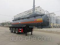 特运牌DTA9408GFWC型腐蚀性物品罐式运输半挂车