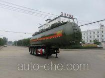 特运牌DTA9407GFWA型腐蚀性物品罐式运输半挂车