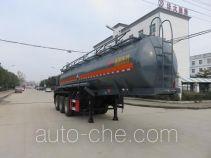 特运牌DTA9408GFW型腐蚀性物品罐式运输半挂车