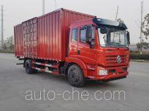 大运牌DYQ5161XXYD5AC型厢式运输车