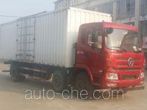 大运牌DYQ5250XXYD4TBA型厢式运输车