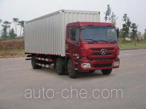 大运牌DYX5201XXYWD3AB型厢式运输车