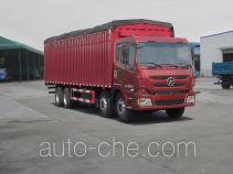 大运牌DYX5313CPYWD31D型蓬式运输车
