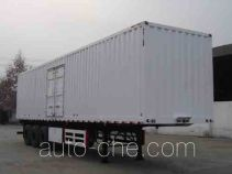 Dayun DYX9380X350A box body van trailer