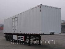 大运牌DYX9390X380A型厢式运输半挂车