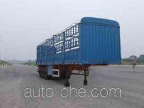 大运牌DYX9400C368A型仓栅式运输半挂车