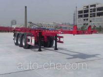 大运牌DYX9400TJZ347型集装箱运输半挂车