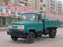 Huachuan DZ2810CDT low-speed dump truck