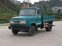华川牌DZ4015CD3T型自卸低速货车
