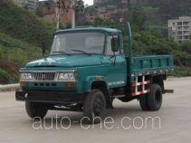 华川牌DZ5815CD1T型自卸低速货车
