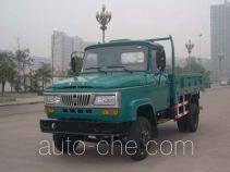 华川牌DZ5815CD2T型自卸低速货车