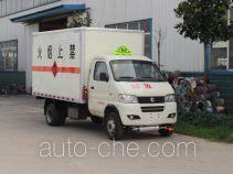 俊风牌EQ5031XRQ50Q6ACWXP型易燃气体厢式运输车