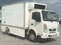 东风牌EQ5045XLCTBEV型纯电动冷藏车