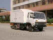 Road cleaning and dust removal truck