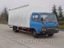 Dongfeng EQ5081XXYGR40D5A soft top variable capacity box van truck