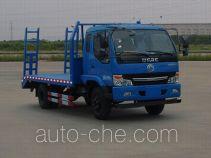 东风牌EQ5100TPB型平板运输车